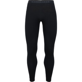 Icebreaker 260 Tech Leggings Hombre, black/monsoon